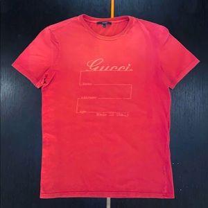 Gucci Men's Short Sleeve T-Shirt